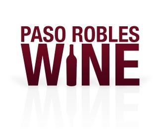 clean,simple,bottle,paso robles,paso robles wine logo