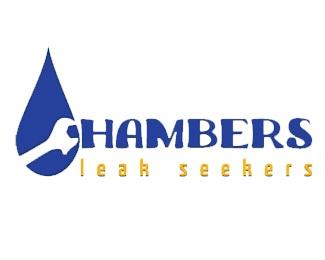 water,seeker,chambers,plumbing,water drop logo
