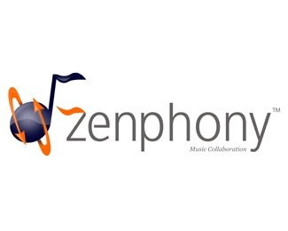 music,online,zenphony logo