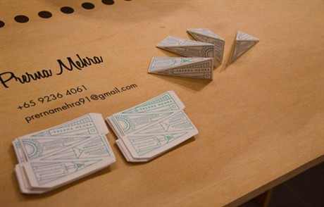 Product Designer Identity business card