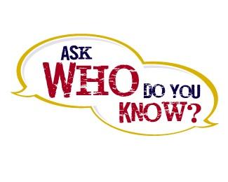 Ask Who Do You Know? logo