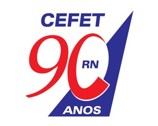 CEFET 90 Years logo
