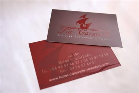 Corsica business card