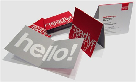 Creartive Design Card business card