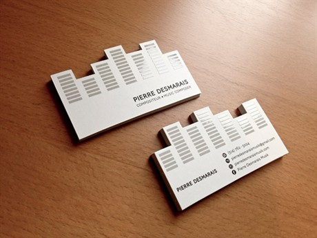 Creative Card Design business card