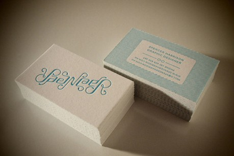 Heidelberg Letterpress business card