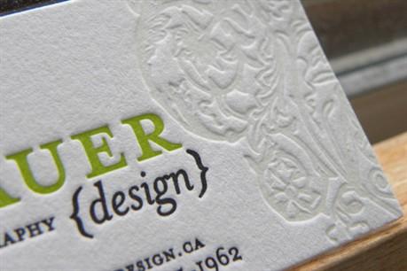 Heidelberg Letterpress business card