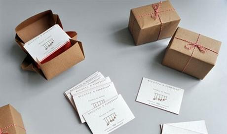 Elegant Letterpress business card
