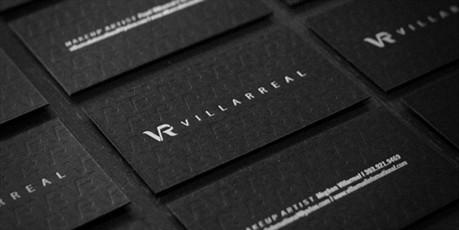 Epic Black Design business card