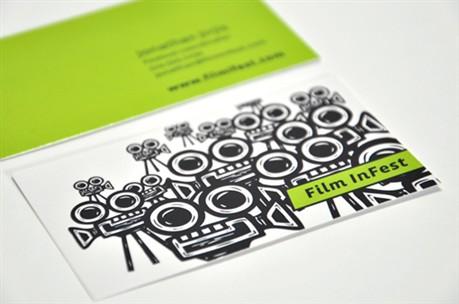 Film In Fest Identity Card business card
