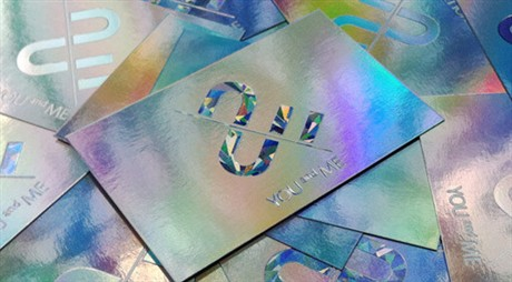 Mirrored Foils Card business card