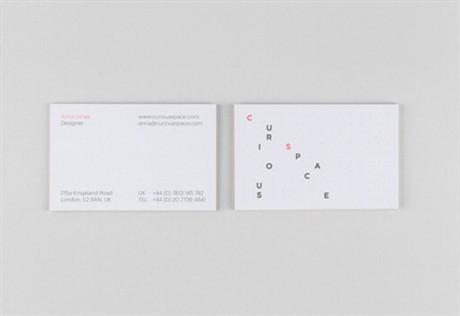 Minimalist  Design business card