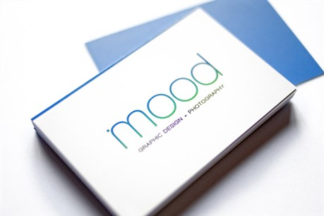Mood Design Studio business card