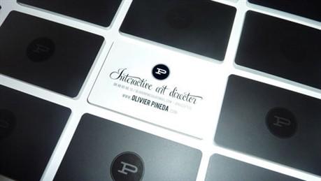 Olivier Pineda business card