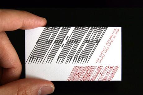 Optical Illusion Card business card