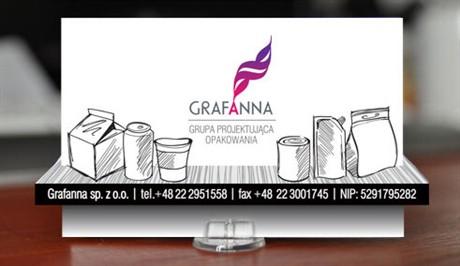 Optical Illusion business card