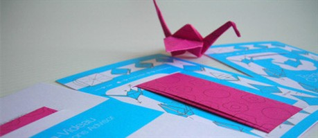 Origami Consulting Identity business card