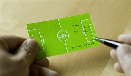 Junpiter Football business card
