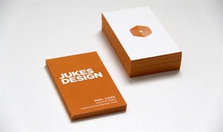JUKES DESIGN business card