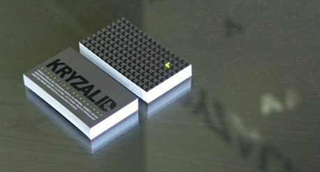 Kryzalid Communication business card