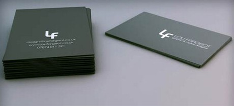 Lou Fargeot Card Design business card