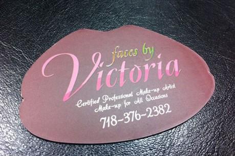 Lips Business Design business card