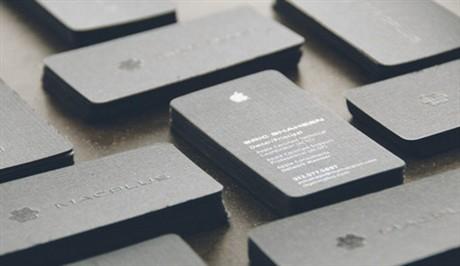Mac Plus business card