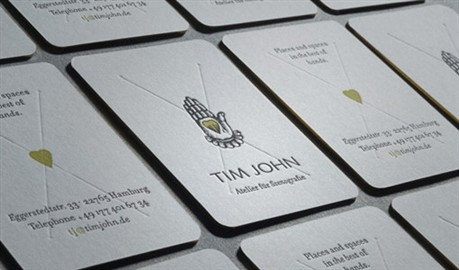 Luxurious  Design business card