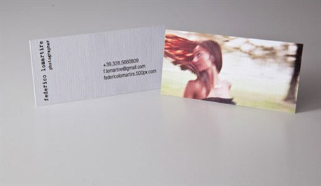 Personal Photographer Cards business card