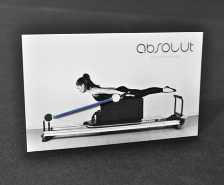 Pilates business card
