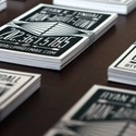 Black & White Letterpress