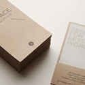 Eco Paper Business Card