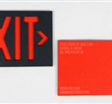 Exit Business Card