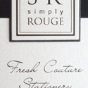 Simply Rouge Card