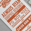 Creative Typography  Design For A Graphic Designer