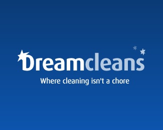 clean,dream,star,bright logo