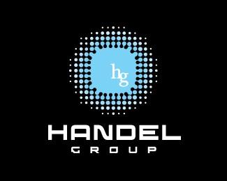 round,dots,liquid,fluid,radiate logo