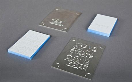White Branding Lab business card