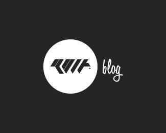 blog,personal,type,modern,abstratc logo