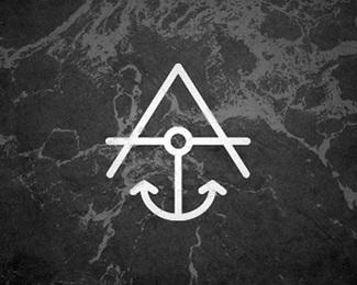 symbol,water,ocean,surf,black and white logo