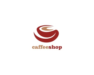 coffee,red,shop,caffee shop logo
