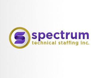 spectrum,ribbon logo