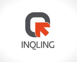 arrow,orange,tech,q,incubator logo