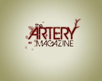 red,blood,magazine,artery,dark red logo