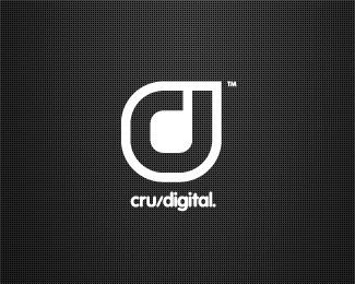 CRU Digital Agency Logo - Logo Design Inspiration