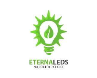 green,eco-friendly,eternaleds,respiro media,sebestyen zoltan logo