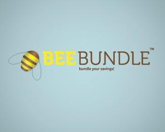 bank,bundle,money,savings,bee logo