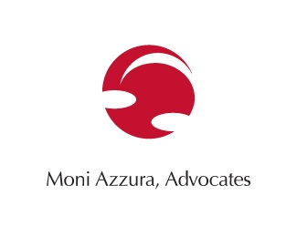 red,law firm,advocates logo