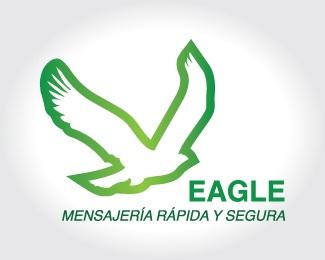 logo,eagle,a,zeckua,mensajerí logo
