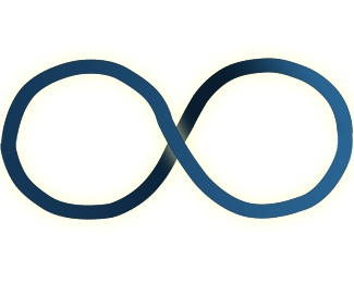 circle,company,project,wave,infinite logo